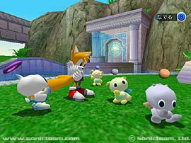 The Hero Chao Garden
