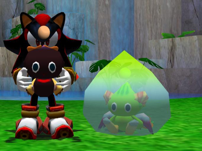 Chao Island - Sonic Adventure 2 Battle - First Evolution