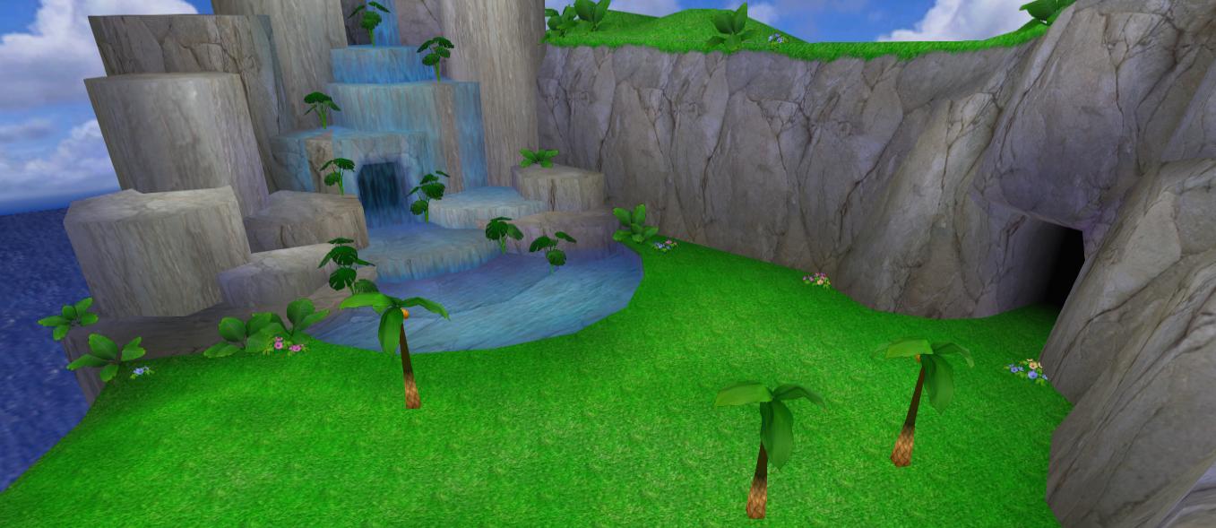 Chao Island Sonic Adventure 2 Battle Gardens