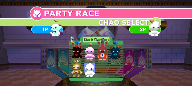 Chao garden race prizes