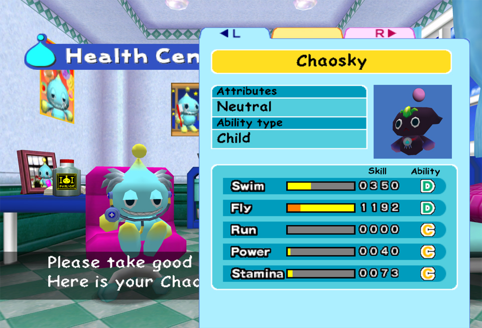 Chao Resort Island How To Evolve